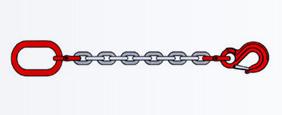Одноветвевые стропы цепные 1СЦ