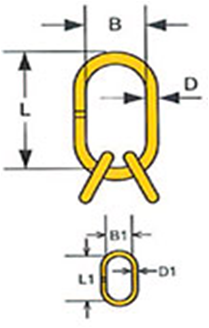 Звено ОВ с дополнительными кольцами тип NRL