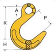 Крюк VAL с широким зевом