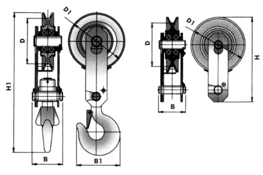 Блок БМ чертеж и размеры